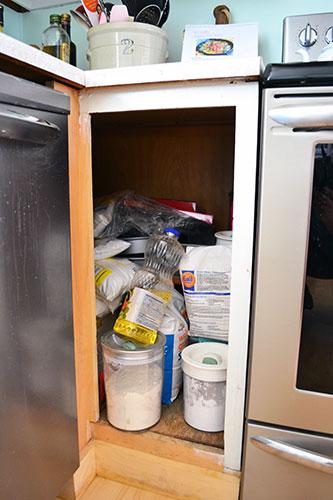 Kitchen_Shelf Pre Pantry Organizing