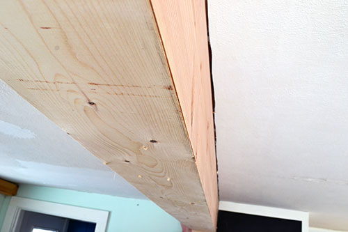Assembled Kitchen Beam Cover