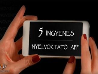 5 ingyenes nyelvoktató app