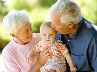 Idős családtagok Angliában