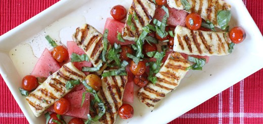 Watermelon and Haloumi Salad 2
