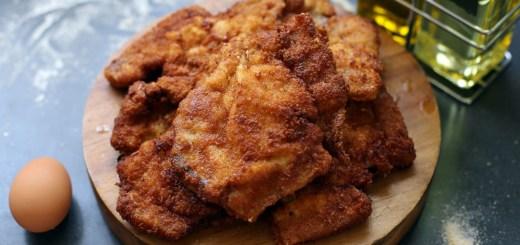 Breaded Pork Chops Wide