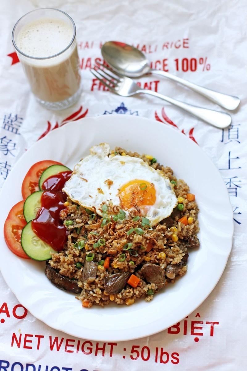 Nasi Goreng Daging