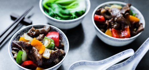Beef and Peppers in Black Bean Sauce 1
