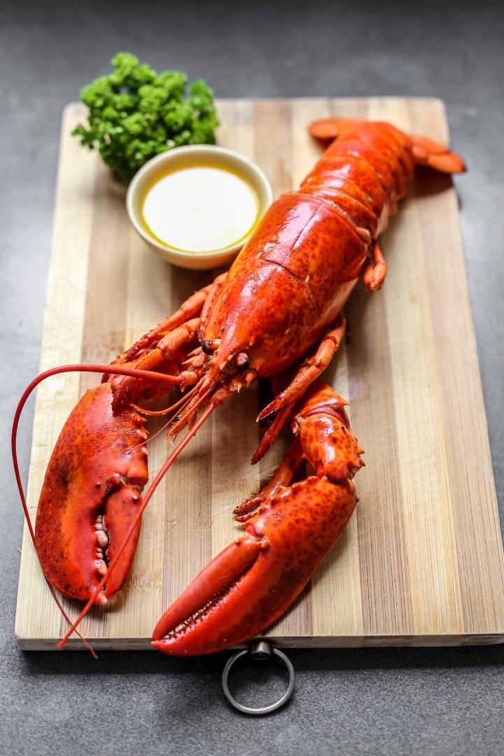 Boiled Lobster - Ang Sarap