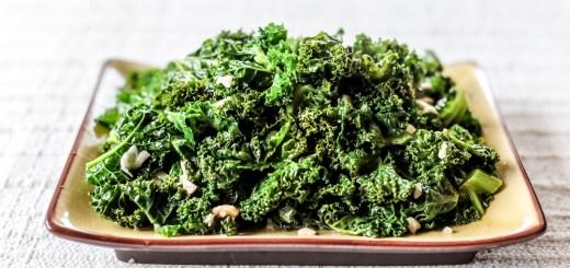 Sauteed Kale Wide