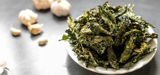Garlic Kale Chips 1