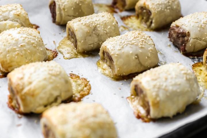 Cheesy Chorizo Sausage Rolls - Ang Sarap