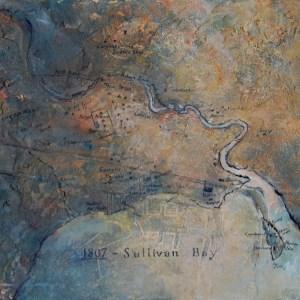 Sullivan Bay, Hobart Town 1807 (65w x 60h cm) - $1800