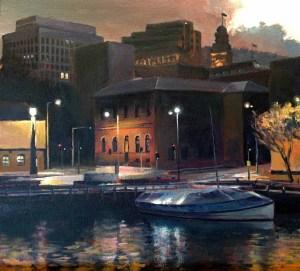 Hobart Docks - $2700 (SOLD)