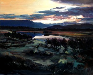 Autumn evening, Woodhall - $750 (SOLD)