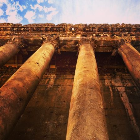 A daytrip to Baalbek is a must in Lebanon!
