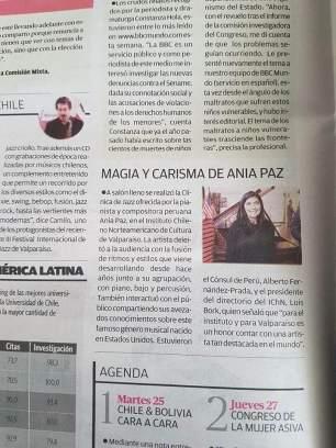Periódico El Mercurio, Valparaíso, Chile