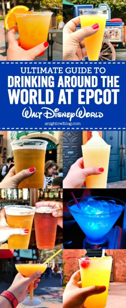 Small Of Drink Around The World Epcot