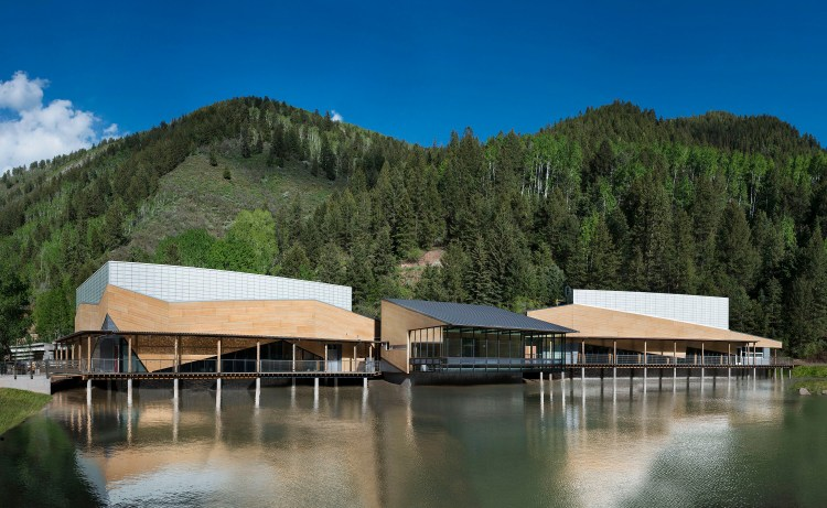 The campus of the Aspen Music Festival and School