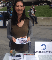 Tabling at Berkeley University