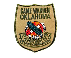 Oklahoma game warden patch