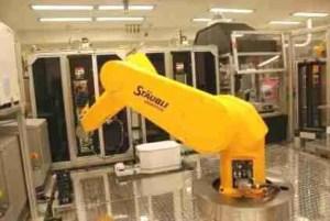 The Tox21 robot. (EPA photo)