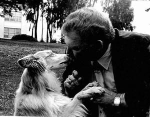 Richard Avanzino & Sido (SF-SPCA photo)