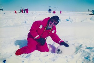 Anne Doncaster, who died in April 2014, opposed the Atlantic Canada seal hunt for more than 35 years. (See Anne Doncaster, 76, founder or cofounder of four noted animal advocacy organizations.)