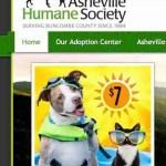 Asheville Humane Society pit bull promotion.
