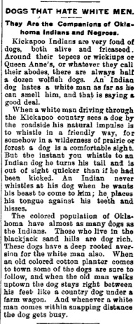From an 1885 edition of the Delphos, Ohio Daily Herald.