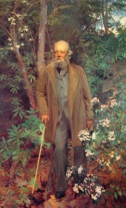Frederick Law Olmsted, as painted by John Singer Sargent in 1895.
