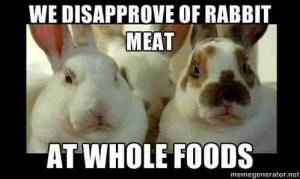 Rabbit Action Network campaign meme.