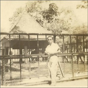 A view of the Surabaya Zoo in 1953. At that time it was considered perhaps the best zoo in Asia.