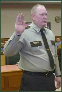 Morton County Sheriff Kyle Kirchmeir.