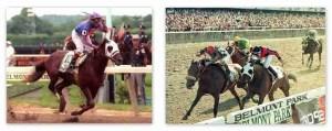 THUNDER GULCH 1995 champion Belmont and K. Derby
