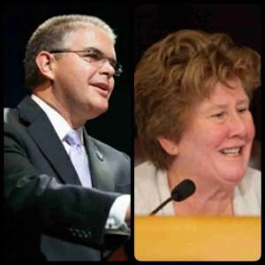 Left: Bruno A. Barreiro Right: Sally Heyman