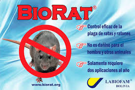A Biorat ad from Bolivia.