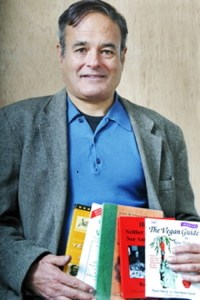 Rynn Berry with his books,  posted in remembrance by publisher Martin Rowe.