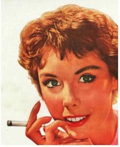 1954 cigarette ad.