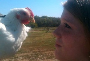 Whitney Hillman & Chicklett (Animal Voices photo)