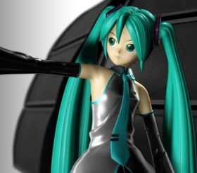 Hatsune Miku - Nebula screencap