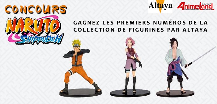[Concours] Gagnez une des 3 figurines Naruto avec Altaya