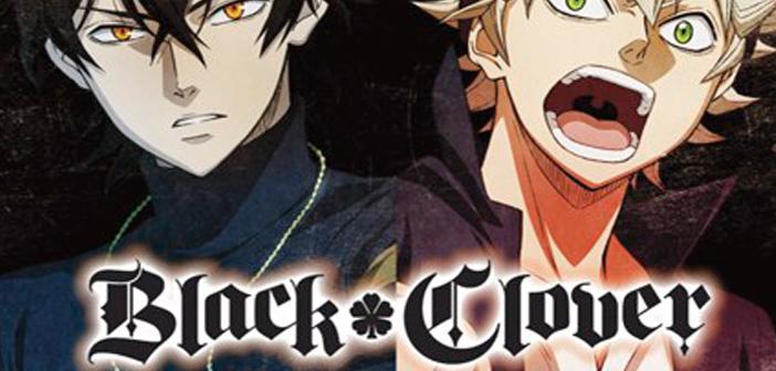L'anime Black Clover sera diffusé en octobre sur Crunchyroll !