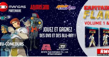 Le mois Capitaine Flam : jouez et gagnez des DVD et Blu-ray !