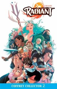 Couverture Radiant tome 8 collector