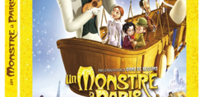 Un monstre à Paris • Blu-ray 3D