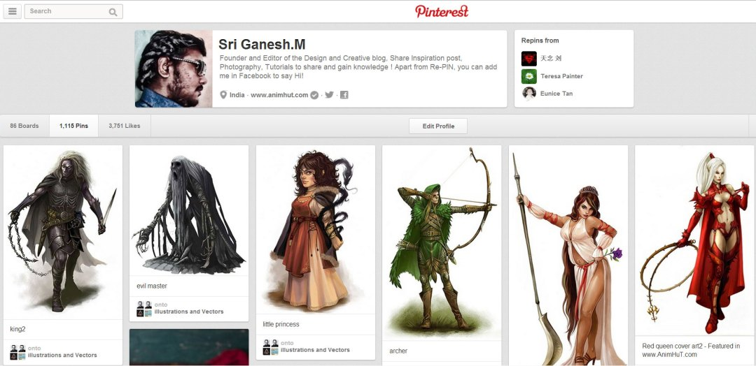 Pinterest New Pins Preview
