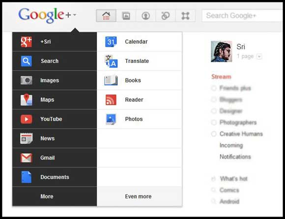 google plus new features