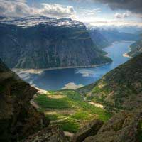 Today's Picture #8 Trolltunga – Norway – amazing View from the Hill Top
