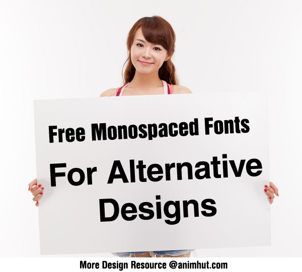 Download Monospace Free Commercial Fonts