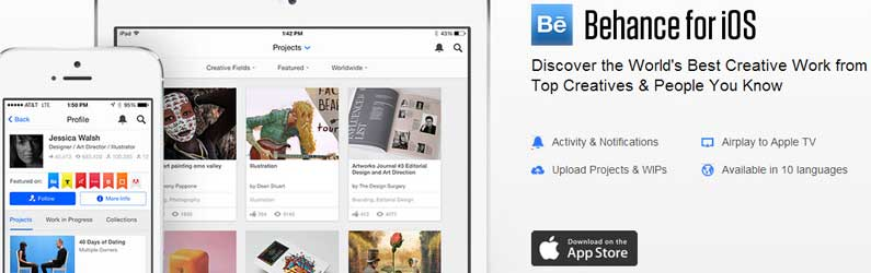Download Official New Behance iPad App for Creatives