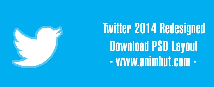 Download Twitter 2014 PSD – New Redesigned Large Header Layout