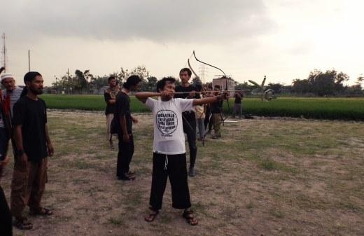 cerita pengalaman pribadi di bulan ramadhan belajar memanah berkuda
