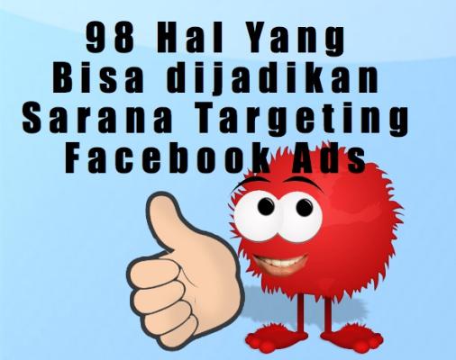 98 cara targeting facebook ads cara mentarget iklan facebook